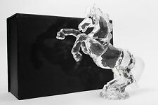 large crystal horse absolutely stunning piece boxed