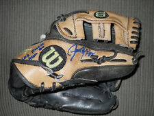 Jason Kipnis MLB Debut Game Used & Signed Fielding Glove Mitt Cleveland Indians