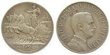 h354 Italy 2 Lire 1911 KM#46 rare silver coin