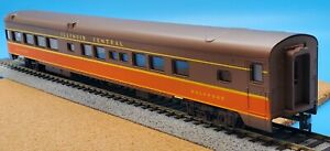 Vintage AHM Rivarossi HO Scale 6402-IC Illinois Central 1930 Observation 85 FT