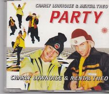 Charly Lownoise&Mental Theo-Party cd maxi single 6 tracks