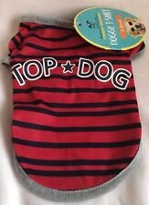 Pouch Couture - Top Dog - Doggy Tshirt - XSmall - Brand New