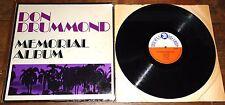 DON DRUMMOND ~ MEMORIAL ALBUM ~ UK TROJAN SKA LP 1969