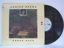 "MARION BROWN ""PORTO NOVO""  LP IN SHRINK MINT"