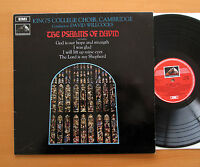 CSD 3656 The Psalms Of David Kings College David Willcocks 1969 EMI Stereo NM/VG