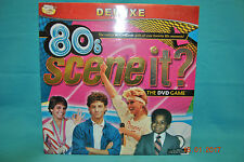 80's Scene It? Deluxe The Dvd Game  2009 New Factory Sealed Screen Life Games