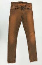 Nudie Jeans 'TIGHT LONG JOHN BLUE GREY DENIM' Jeans W24 L32 EUC RRP $249 Womens