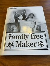 Family Tree Maker User Tutorial Amd Reference Manual Guide Broderbund
