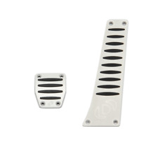 Dinan Aluminum Pedal Cover Set for BMW with Automatic Transmission DCT SMG