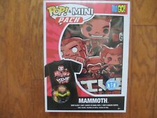 Funko POP Tees Mini Pack Teen Titans Go! Villains Mammoth Figure T Shirt Small S