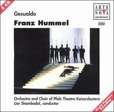 Franz Hummel: Gesualdo 2 CD SET USED FREE SHIPPING Opera World Premiere