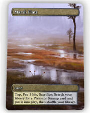 === 4X Marsh Flats X4 == Full Art Borderless ==