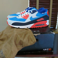 "2006 Nike Air Max 90 ID ""SKITTLES"" Infrared Black Blue sz 12.5 New DS SKITTLEZ"
