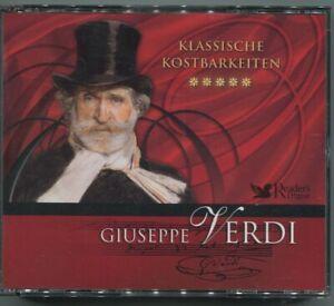 3CD Giuseppe Verdi: Klassische Kostbarkeiten (Reader´s Digest) 2008