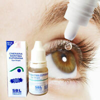 10ml  SBL Cineraria Martima Euphrasia Homeopathic Eye Drops Herbal Ayurveda