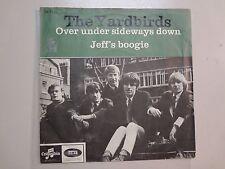 "YARDBIRDS:Over Under Sideways Down-Jeff's Boogie-Denmark 7"" Columbia DB 7928 PSL"