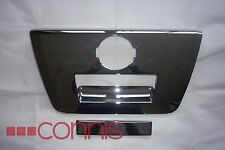 Nissan Navara D40 (2005 - 2010) Chrome Rear Tailgate Surround and Handle Cover