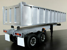 New Aluminum Dump Bed Tipper Trailer for Tamiya R/C Scale 1/14 King Grand Hauler
