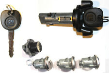 NEW GMC SAFARI OEM IGNITION LOCK+ 4 DOOR LOCKS CYLINDER W/2 GM OEM LOGO KEYS