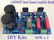 New LM3886TF Dual Channel HIFI Amplifier Speaker Protection Board DIY Kits 68Wx2
