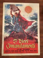 manifesto,2F,C,  I DIECI COMANDAMENTI The Ten Commandments  DE MILLE HESTON