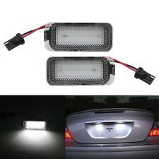 For Ford Fiesta JA8 Focus S-MAX C-MAX Galaxy LED Number License Plate Light Lamp