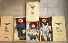 Limited Edition Molly-E Version Raggedy Ann Andy & Baby Ann Applause 1993 NEW