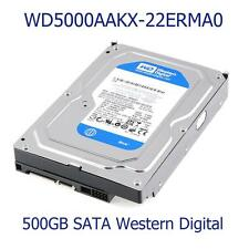"500 GO Western Digital WD5000AAKX-22ERMA0 3.5"" 7.2 K SATA/16MB Cache Disque Dur"