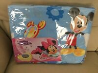 Disney Mickey Mouse Cool Duvet Cover Bedding Set Single Blue BNIP