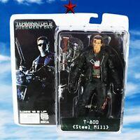 NECA New Action Figure Terminator T-800 Ultimate Deluxe Arnold Schwarzenegger