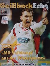 Programm 1998/99 1. FC Köln - Hannover 96