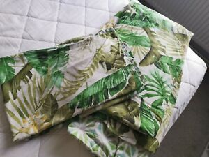 Tropical King-size Duvet Cover And Pillow cases
