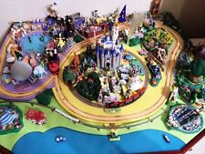 USA Disneyland Diorama Model SET! Disneyana Disney Parade Miniature Japan NEWF/S