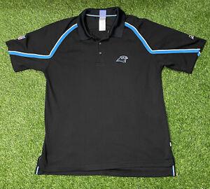 Vintage NFL Reebok Carolina Panthers Polo Shirt Large