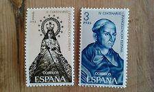 Nuevo - LOTE DE 2 SELLOS DE ESPAÑA EVANGELIZACIÓN FILIPINAS - For Colecctors