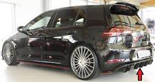 Rieger CUP Diffusor SCHWARZ für VW Golf 7 VII GTI GTD Heck Ansatz Stoßstange