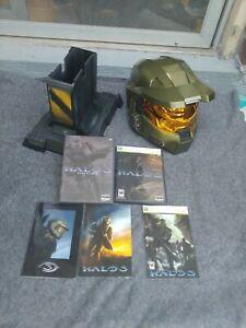 Halo 3 Legendary Edition Helmet + Stand + Game + Essential Discs