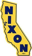 1962 Richard Nixon California Governor Auto Window Sticker (2423)