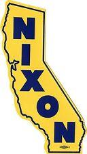 1962 Richard Nixon California Governor Auto Window Sticker (2423)