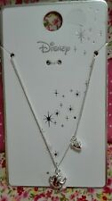 Primark Disney beauty and the beast necklace bnwt chip teapot