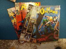 Lot of 4 Dc comics : Superman, Robin, Aquaman, Outlaws (1990's)