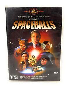 Spaceballs (DVD, 2004) John Candy Region 4 Free Postage