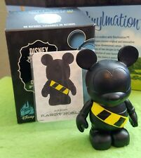 "Disney Vinylmation 3"" Set 2 Park Toon Hole Mickey Mouse w Box & Card"