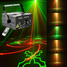 80 Pattern AUTO Laser Stage Light Projector DJ Party Disco Club LED Lighting UK