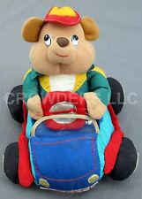 Plush Bear Driving Car w/ Sound Effects Creations from T L Toys Toddler Battery