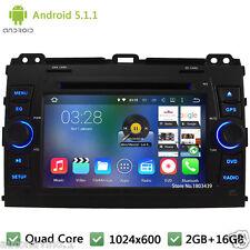HD Android 5.1 Car DVD Player Radio GPS Navi For Toyota Land Cruiser Prado 120
