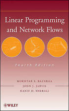 Linear Programming and Network Flows, Bazaraa, Mokhtar S.