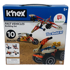 K'NEX Fast Vehicles Building Set Builds 10 Vehicles-96 PC Ages 5 Stem