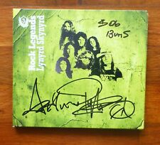 LYNYRD SKYNYRD-A CD Disc Cover-HAND Signed By Actimus & Bob With a COA & CD Too