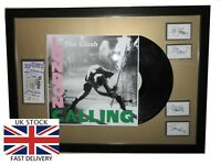 """The Clash Framed 12"""" LP✅Tickets & Band Autographs LIMITED EDITION ✅Free DELIVERY"""